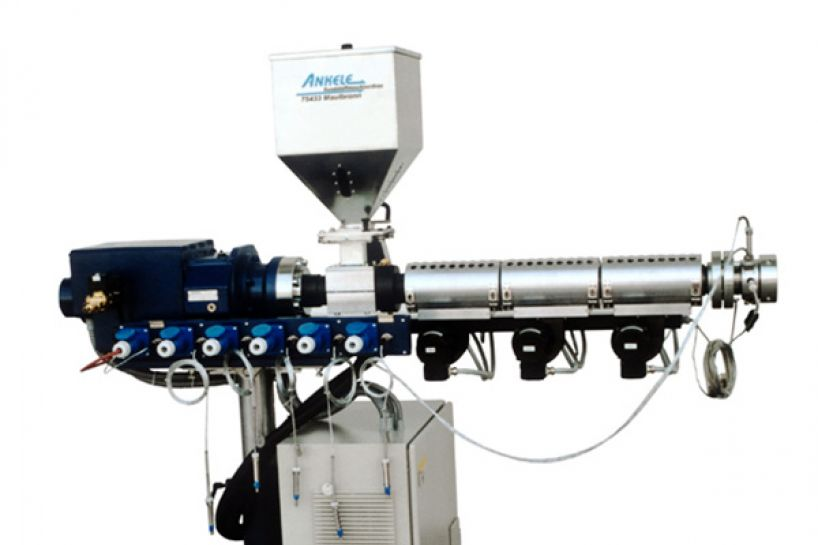 Single screw extruder Ø 30 - 120 with CMG-Drive