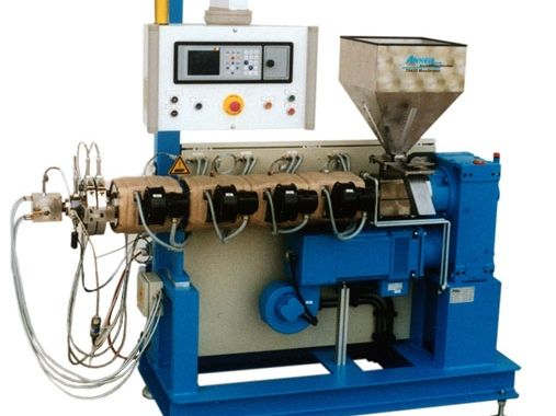 Single Screw extruder for fluorpolymer