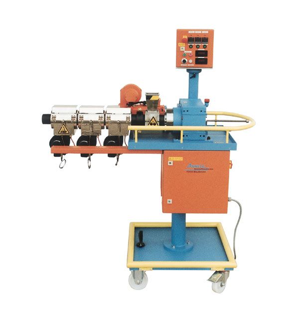 Single Screw extruder for rubber and silicone