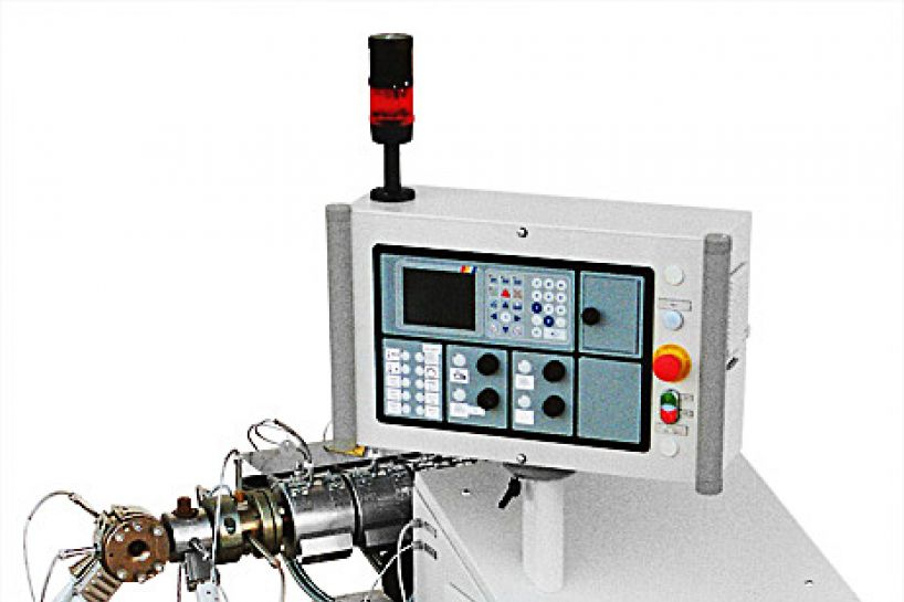 Single screw laboratory extruder